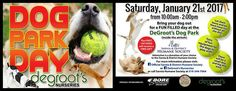 Dog lovers. SAVE THE DATE! Supporting Official Sarnia & District Humane Society atDeGroot's Nurseries
