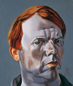 Artist and Studio, Philip Akkerman, self-portrait, 2003