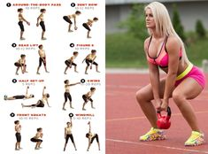 Full body kettlebell workout is very beneficial for health. Know how you should do these kettlebell exercises and what are their benefits.