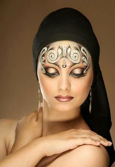Eye and make up art - Asian style