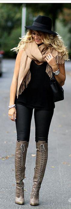 Gangsta Boots, pants, top, scarf, and hat = Nice  set yazan رقم المحمول 0795145847