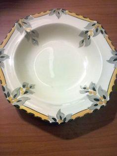 RARE Art Deco Burleigh Dessert Bowl | eBay
