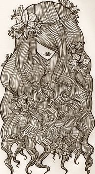 """...Then we grew a little and romanticized the time I saw flowers in your hair."""