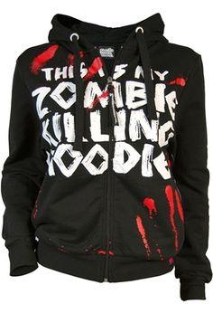 Goodie Two Sleeves - Men's Zombie Killer Hoody