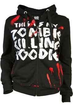 Goodie Two Sleeves - Men's Zombie Killer Hoody