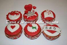 #Love cupcakes #Love #Valentine's day cupcakes #Valentine's day #Happy Valentine