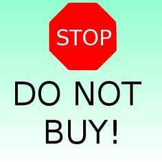 do not buy - Google-søgning