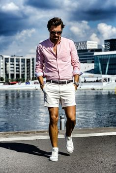 Most Gentle Men Summer Fashion You Must Try 05 Classic Sneakers, Black Love, Summer Time, Men Summer, Boy Shorts, Casual Wear, Short Dresses, Mens Fashion, My Style