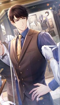 Diabolik Lovers Wallpaper, Romantic Anime Couples, Cute Anime Coupes, Cool Anime Guys, Estilo Anime, Manga Love, Handsome Anime, Animated Cartoons, Anime Scenery