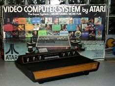 Atari - wow we were so high tech! We got Atari and a VCR about the same time. My Childhood Memories, Sweet Memories, First Video Game, Old Computers, Vintage Games, Ol Days, Classic Toys, The Good Old Days, Back In The Day