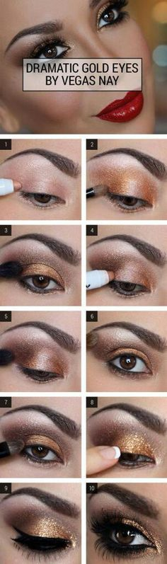 Guide for Dramatic Eyes