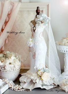 Scrap Tenho Opaco: kit lhes um HAPPY NEW YEAR2014 Torso decisão ♪ ♪ & vestido de noiva