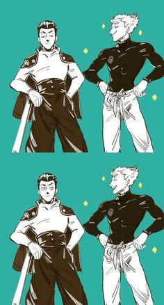 Metal Bat y Garou One Punch Man Anime, One Punch Man 3, Anime One, Manga Anime, Caillou, Metal Bat, Saitama, Wattpad, Memes