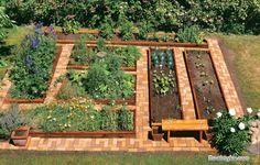 Делаем садовый участок красивым и чистым.