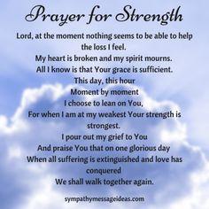 Prayers For Grieving, Spiritual Prayers, Grieving Quotes, Prayers For Strength, Prayers For Healing, Powerful Prayers, Sympathy Quotes For Loss, Sympathy Prayers, Sympathy Card Messages