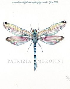 Tattoo Watercolor Dragonfly Wings Ideas For 2019 Dragonfly Drawing, Dragonfly Painting, Dragonfly Tattoo Design, Dragonfly Wings, Butterfly Watercolor, Tattoo Designs, Tattoo Watercolor, Watercolor Painting, Blue Dragonfly