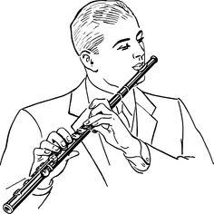 clarinet clip art peter s project pinterest clarinets clip rh pinterest com clarinet pictures clip art