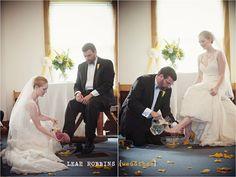 Contemporary religious wedding ceremony