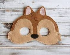 Image result for baby face felt mask template free