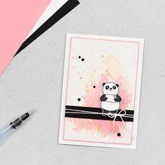 Grußkarte Panda-Liebe & Party-Pandas // Herzlich Willkommen zu einem neuen Blog Hop meines Teams. Dieses Mal dreht sich alles um die aktuelle Sale-a-Bration 2018 und den damit verbundenen Gratisprodukten. Für mein heutiges Projekt habe ich mich für das zauberhafte Stempelset Party-Pandas entschieden. Oh mein Gott – sind die nicht niedlich? ❤️ Für mich war das Liebe auf den ersten Blick. Aus diesem Grund war für mich klar, dass ich euch unbedingt mit diesem Stempelset eine Karte zeigen möcht