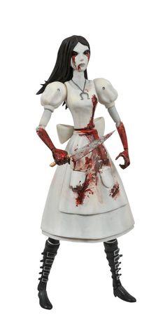 Amazon.com: Diamond Select Toys Alice: Madness Returns: Hysteria Alice Select Figure: Toys & Games
