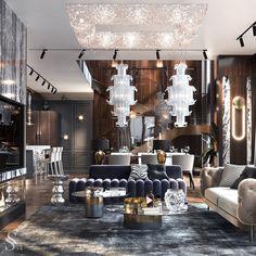 Classic Living Room, Living Room White, Living Room Modern, Living Room Designs, Retro Interior Design, Luxury Interior, Luxury Furniture, Modern Hotel Lobby, Hotel Lobby Design
