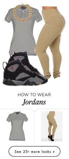"""Air Jordan 7 Collection"" by trillest-boss on Polyvore featuring Ralph Lauren, Retrò and Michael Kors"