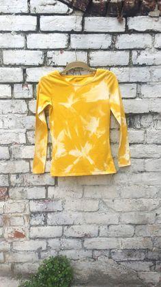 Tie Dye Acid Wash Ladies Long Sleeved Top  Bright by AbiDashery, £12.50