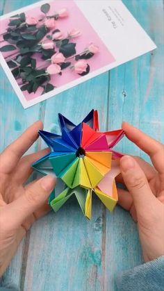 creative crafts let's do together!? creative crafts let's do together!? Diy Crafts Hacks, Diy Crafts For Gifts, Upcycled Crafts, Creative Crafts, Foam Crafts, Handmade Crafts, Instruções Origami, Paper Crafts Origami, Best Origami