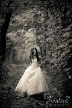 Aralani Photography, Bridal Portraits – A Fairy Princess in the Columbia River Gorge