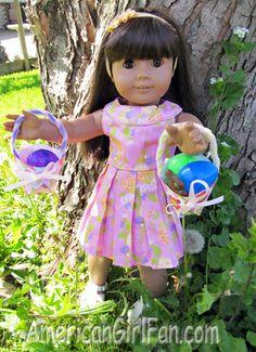 DIY Easter baskets free pattern
