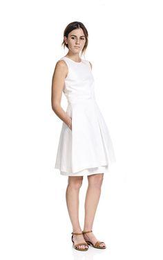 Box Pleat Dress