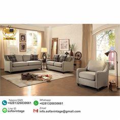 Sofa Set Minimalis Ruang Keluarga Zona Murah