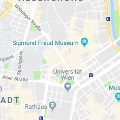 Booking.com Sigmund Freud, Museum, Austria, Map, Activities, Location Map, Museums, Peta, Maps
