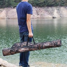 MagiDeal 130cm Long Fishing Rod Holdall Bag/Carry Case/Cover/Pouch/Luggage