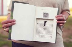 This would be nice, but I would never get to my wedding because I WOULD DIE OF HAPPINESS AS SOON AS I OPENED THE BOOK