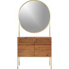 memento mirror cabinet   CB2