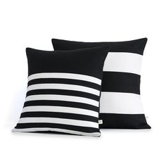 Decorative Pillow Cover Set of 2: Stripes in by JillianReneDecor