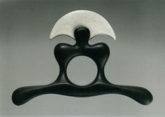 Istvan HOLLO: Ring 1993, Ebony, ivory. Museum of Applied Arts, Budapest.