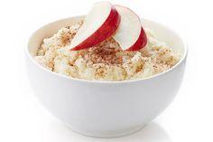 Der erste Milchreis - mit Apfel Brei Baby, Hummus, Grains, Ethnic Recipes, Food, Porridge Recipes, Good To Know, Food Portions, Eten