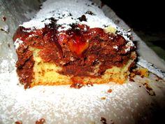lemon marble cake vegan/κέικ μαρμπρε με λεμόνι νηστίσιμο