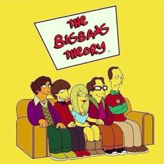 The Bing Bang Theory version The Simpsons