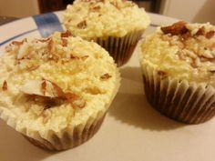 Vegan Cupcakes with Maple Frosting