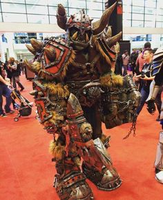Witness incredible cosplay without cleavage!