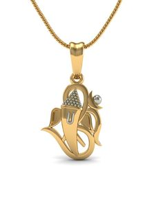 Exceptional A Gold Chain for Men Makes The Perfect Gift Ideas. Exhilarating A Gold Chain for Men Makes The Perfect Gift Ideas. Ganesh Pendant, Om Pendant, Diamond Pendant, Pendant Jewelry, Gold Jewelry, Locket Design, Jewelry Design, Jewelry Ideas, Gold Pendants For Men
