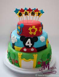 Resultado de imagen para torta de cumpleaños mickey