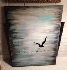Take Me Far 30x40 Acrylic on gallery canvas $465  http://cargocollective.com/artbyleighbird