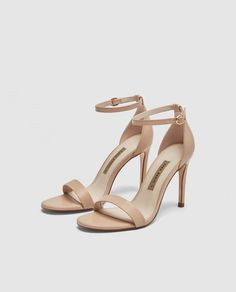 b0287f0f34a SANDALIA TACÓN PIEL · Zara United KingdomZara United StatesWomen s Shoes ...