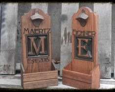 Bottle cap catcher personalized man cave Bar gift. by MVwoodworks
