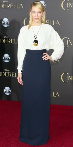Cate Blanchett's Red Carpet Style - In Celine, 2015 - from InStyle.com